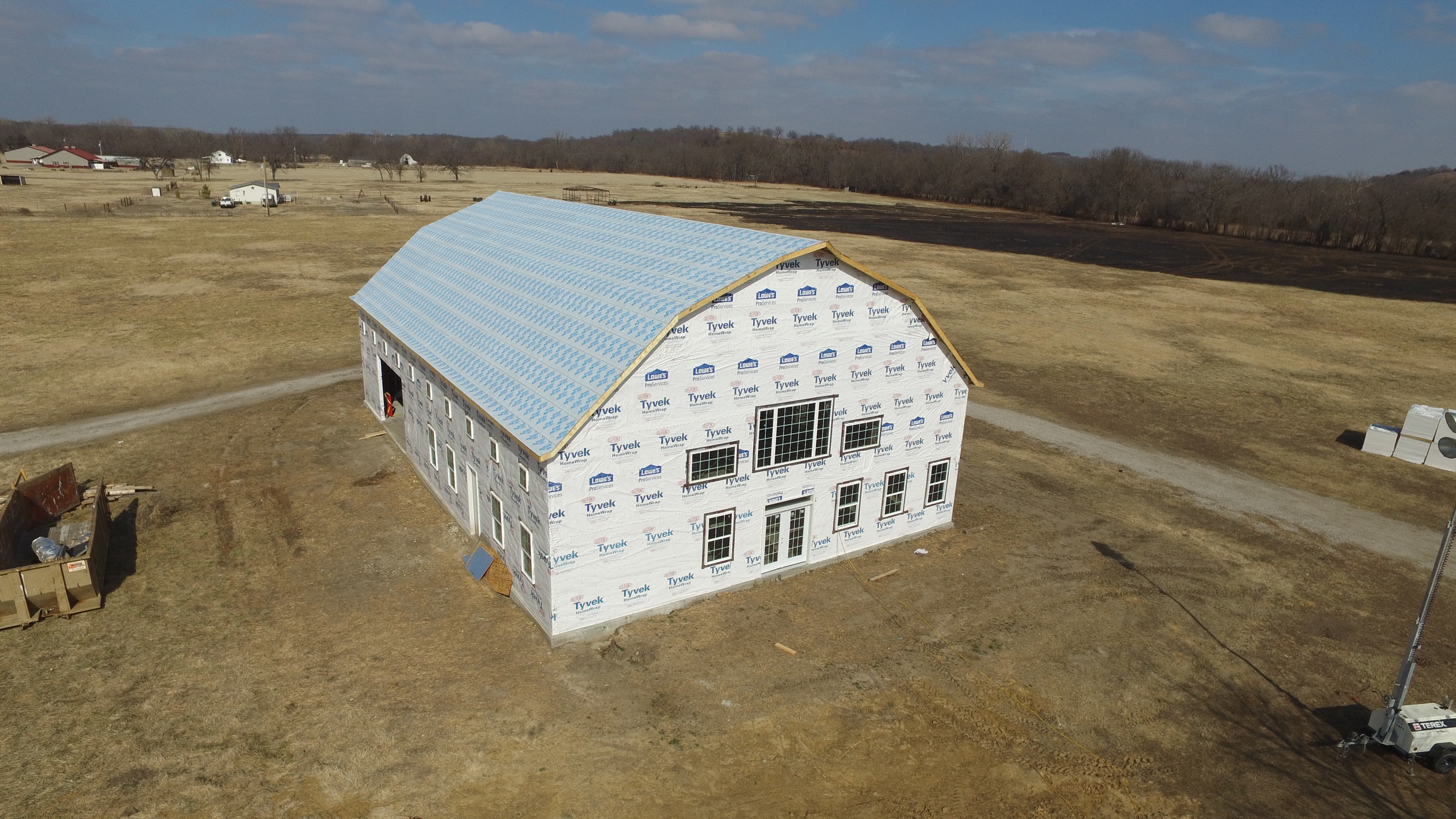 Standing Seam Barn Roof